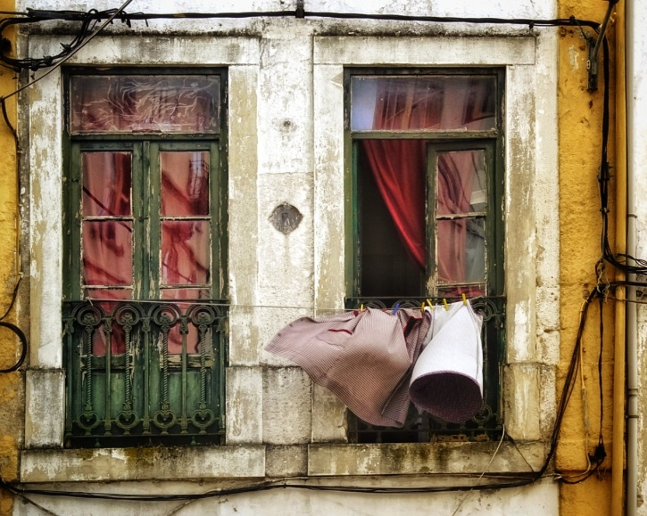 Fenster in der Altstadt