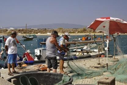 Ferragudo Hafen