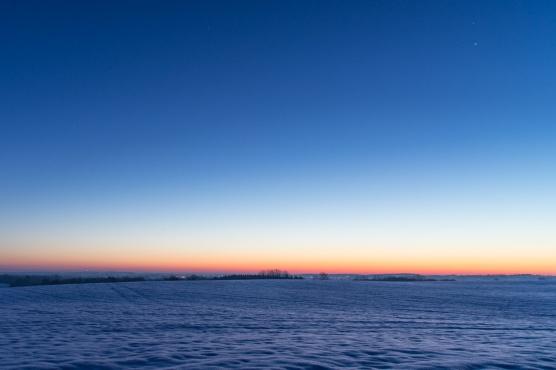 Eiskalter Morgen
